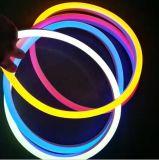 13mm im Freien 12V LED wasserdichtes Seil-hellgelbes Neonlicht