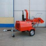熱い販売のトラクターによって取付けられるタイプおよびISOのセリウムの証明書が付いているSelfpowerのタイプ木製の砕木機