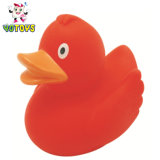 Бисфенол-А красный виниловый резиновые взвешенных утка с плавающей запятой игрушка