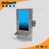Mur kiosque (SW180) Self-Service Terminal interactif avec scanner de code à barres