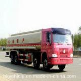 De Vrachtwagen van de Olietanker van Sinotruck HOWO 8*4 25m3