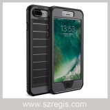 Cas de dispositif de couverture de silicones de cas de téléphone mobile pour l'iPhone