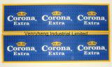 Logotipo personalizado da borracha de PVC OEM Bar Bar Mat Tapete de rampa de pingos Bar Runner