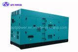 Gerador 500kw 550kw silencioso à espera principal/gerador de potência