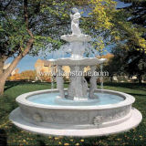 Outdoor 정원/Landscape/Yard를 위한 돌 Marble Carved Water Fountain