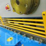 Corte de acero de la guillotina, corte hidráulico, corte de acero, cortadora de la placa del CNC, cortadora de hoja de metal