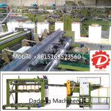 Carcaça do assoalho da máquina do construtor do folheado do núcleo da madeira compensada da fonte de China que faz a maquinaria