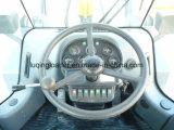 Hydraulische 3 Ton van de Lader van het Wiel met 1.7cbm Emmer en Bedieningshendel