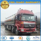 35 eixos 35000 litro preço do M3 Foton 6X4 4 do caminhão de petroleiro da liga de alumínio