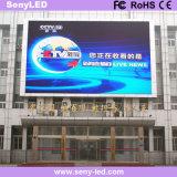 Quadro de avisos do diodo emissor de luz do indicador video de cor cheia do quadro de avisos do anúncio ao ar livre (P8mm)
