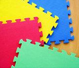 Qualität EVA-Puzzlespiel-Matte passte gedruckte Tatami grüne Matte an