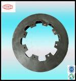 Disque inoxidable de frein de bâti pour des pièces de véhicule et de moteur
