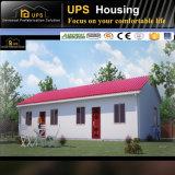 Edificio prefabricado rápido de cuatro camas del almacén que ensambla para la vida de la familia