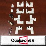 Accessori di alluminio del comitato di accesso con la serratura di spinta, il collegare e le viti AP7710