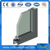 Profil Polished de guichet en aluminium d'extrusion de constructeur de la Chine