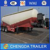 Kleber-Masse-Silo-Tanker-LKW-Schlussteil der China-3 Wellen-45cbm