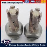 물리는 검정 다이아 시추기 또는 CNC 기계를 위한 다이아몬드 맷돌로 가는 절단기