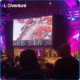 Visualización de LED a todo color de interior de los acontecimientos de vidas