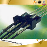 15.24mm Flat Multistrand Anchor Coupler für PC