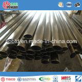 Constructeur sans joint soudé poli par 304/316L de tube d'acier inoxydable