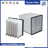 空気調節およびHVACシステムのための袋のエアー・フィルタ