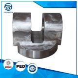 CNC da elevada precisão da liga que forja as peças dobro do misturador do eixo