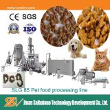 Maquinaria automática de la fabricación del alimento de animal doméstico de la salida grande