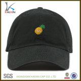 Изготовленный на заказ выдвиженческие вышитые шлемы бейсбольной кепки папаа для людей