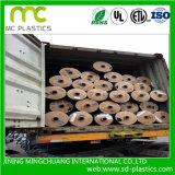 Película enorme do PVC de Rolls para fitas elétricas ou da isolação