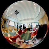 중국 전체가 다 보이는 감시를 위한 파노라마 탄 CCTV 렌즈