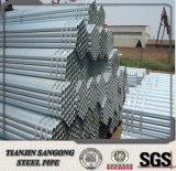 INMERSIÓN caliente del exportador galvanizada alrededor del tubo de acero del fabricante de China
