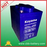 Batería profunda probada CE 225ah 6V del gel del ciclo del carro de golf