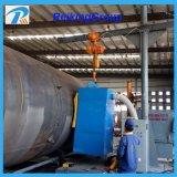 Nettoyage personnalisé de surface de pipe en acier de machine de grenaillage