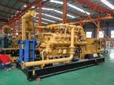 Gruppo elettrogeno della centrale elettrica della turbina a gas della natura della Cina Lvhuan 500kw di potere verde con i generatori industriali di CHP e raffreddati ad acqua