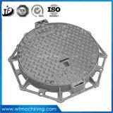 円形の下水管または蝶番を付けられたマンホールのための鋳鉄の排水か腐敗性タンクカバー