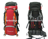 Revestimiento de PU de poliéster Trekking mochilas