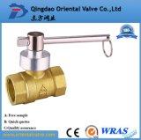"""Valvola a sfera d'ottone acqua media di pressione 1/4 dei fornitori della fabbrica della valvola a sfera """" della mini"""