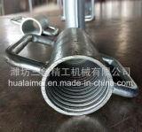 Ручка вспомогательного оборудования Scaffloding конструкции стальная