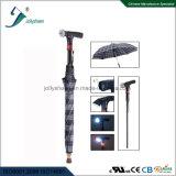Canne intelligente rechargeable avec la radio et parapluie portatif et commode