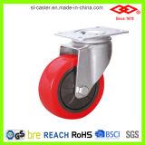 Het rode Wiel van de Gietmachine van Pu (P120-36E075X30)