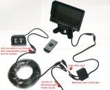Moniteur d'écran LCD haute résolution de 7 pouces 3chs pour camions 24V