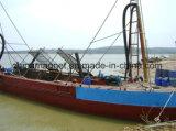 Succión de arena de bombeo de la máquina de la nave por mar mina de arena