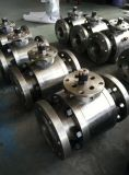 고압 Forged A304 Ball Valve (dn100 pn160)