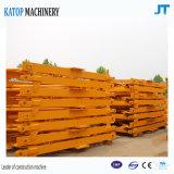 carga máxima de patíbulo 16t de 75m feita no guindaste de torre em topless de China para a construção
