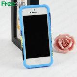 Cassa del telefono di sublimazione 3D dello spazio in bianco di Customed 2D per il iPhone 5
