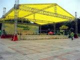 Barraca de alumínio do fardo do telhado do festival de música do telhado da iluminação do estágio do parafuso