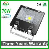 Top Quality 3 Anos 100W Garantia LED holofote com Bridgelux Chip