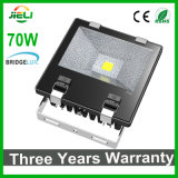 Bridgeluxチップが付いているフラッドライト最上質の3年の保証100W LEDの
