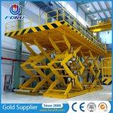 1000kg 2m manuelles stationäres Aufzug-Tisch-Innengerät