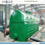 10 Tpd Reifen-Öl Dieselzum raffinierungs-Pflanzennegativen Druck
